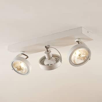 Arcchio Dagur takspotlight, 3 lampor vit
