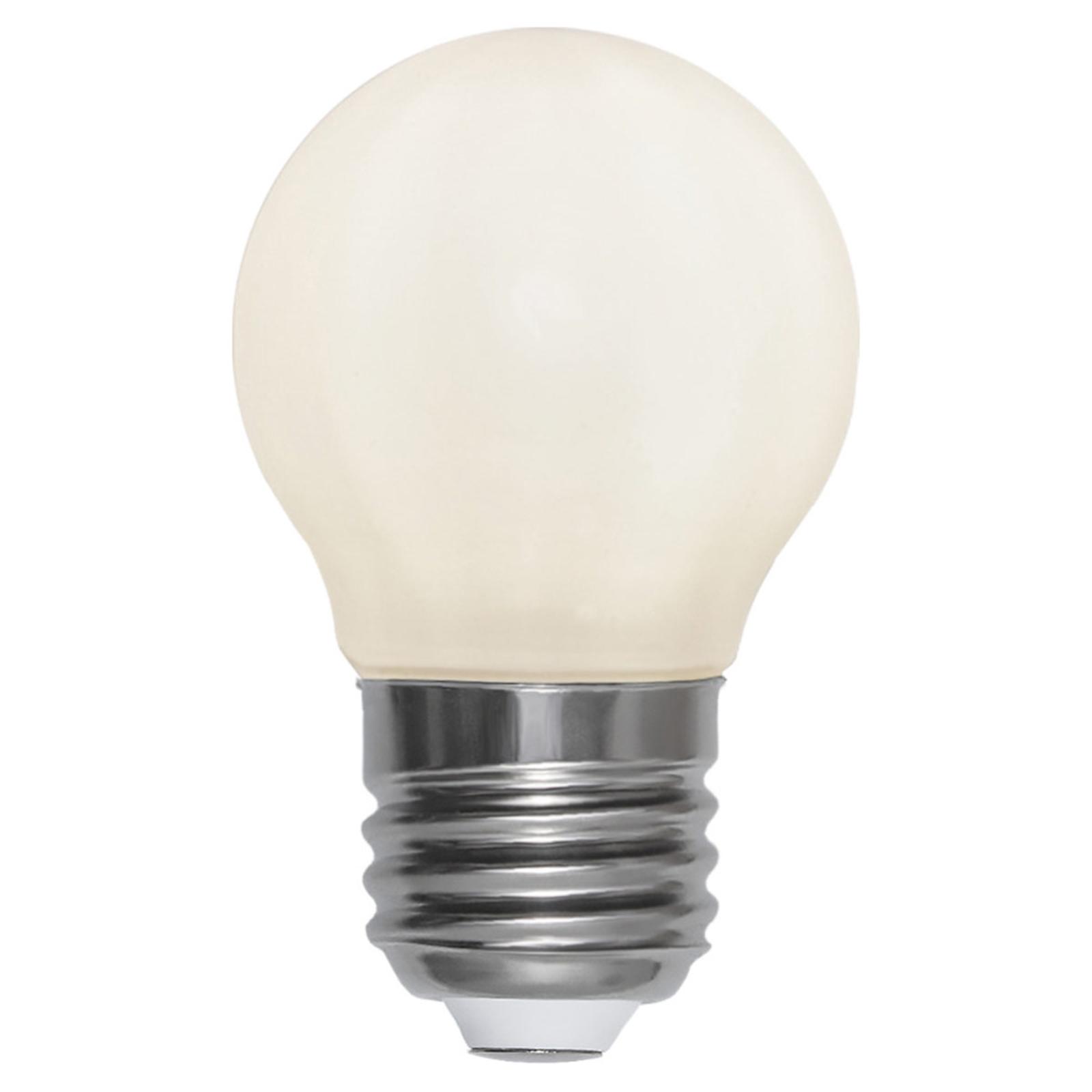 LED-Lampe E27 MiniGlobe 3W 2.700K Ra90 opal