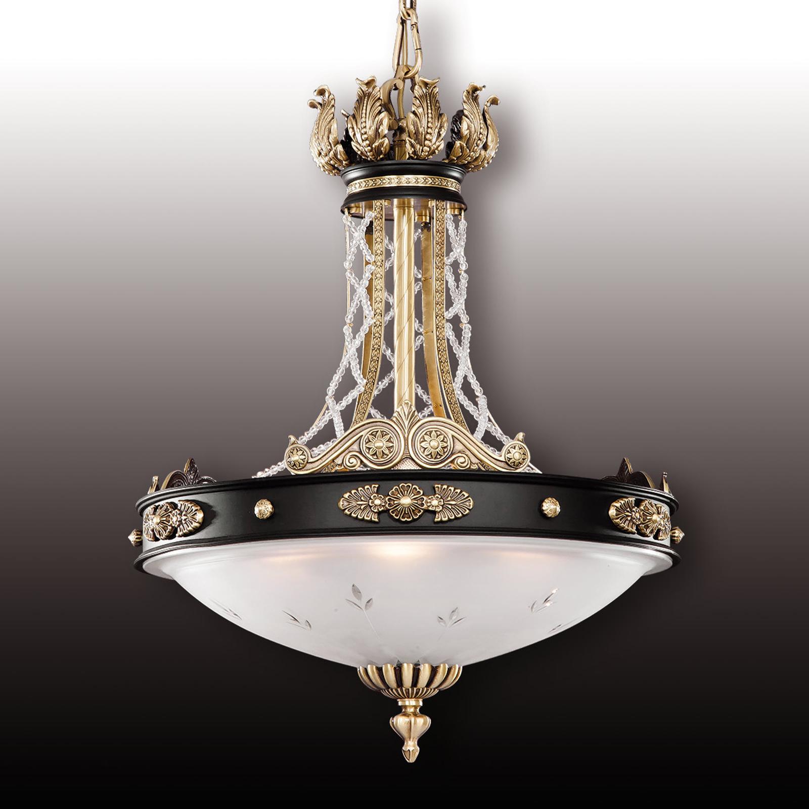 Tudor pendellamp m. Asfour kristal