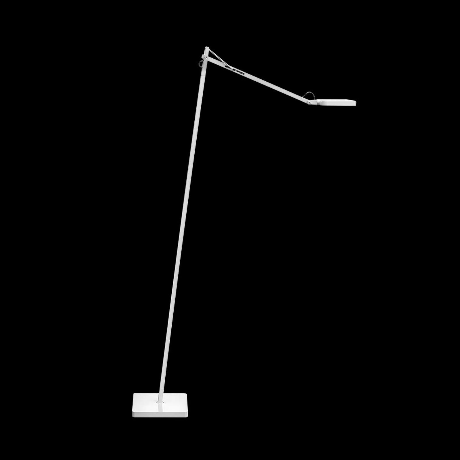 FLOS Kelvin LED - designová stojací lampa, bílá