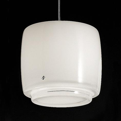 Skleněné závěsné světlo Bot, Ø 16 cm