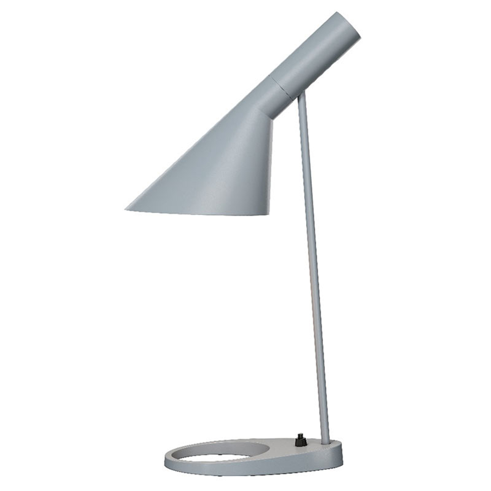 Louis Poulsen AJ - designer tafellamp, lichtgrijs