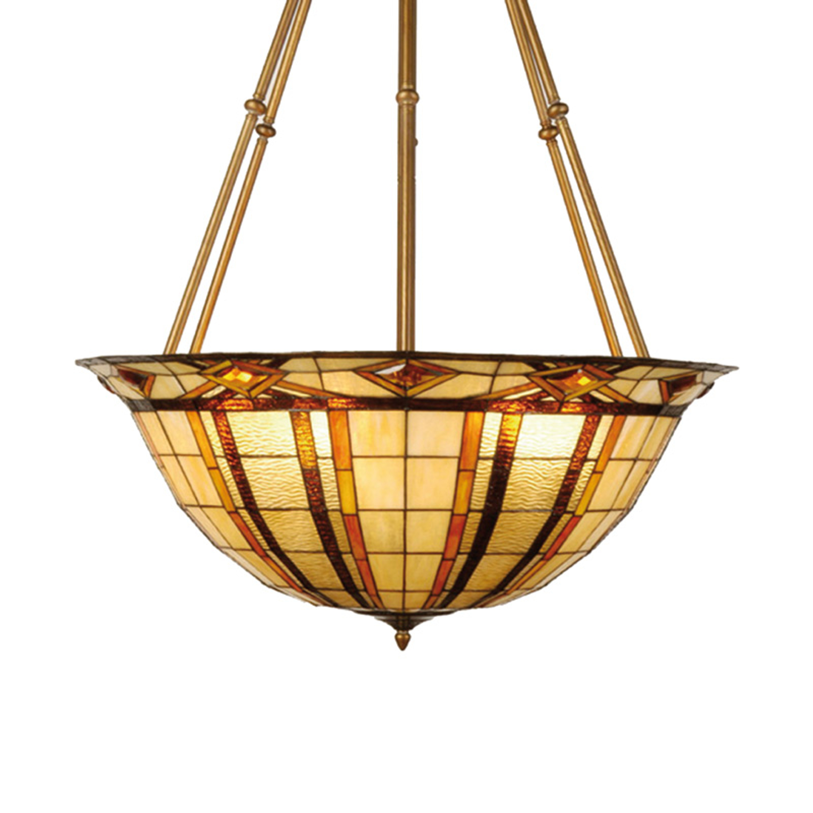 Styl Tiffany – elegancka lampa wisząca Machi