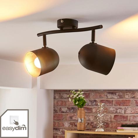 LED-spotlight Morik, dimbar, två ljuskällor