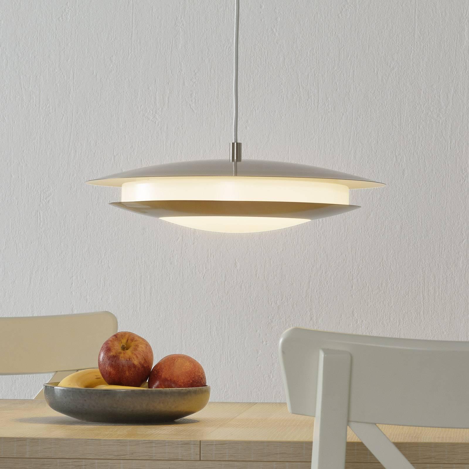 EGLO connect Moneva-C lampa wisząca nikiel Ø 40,5