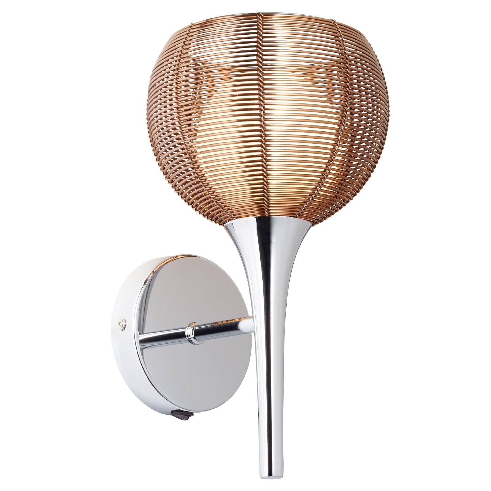 Billede af Relax hængelampe i bronze og krom