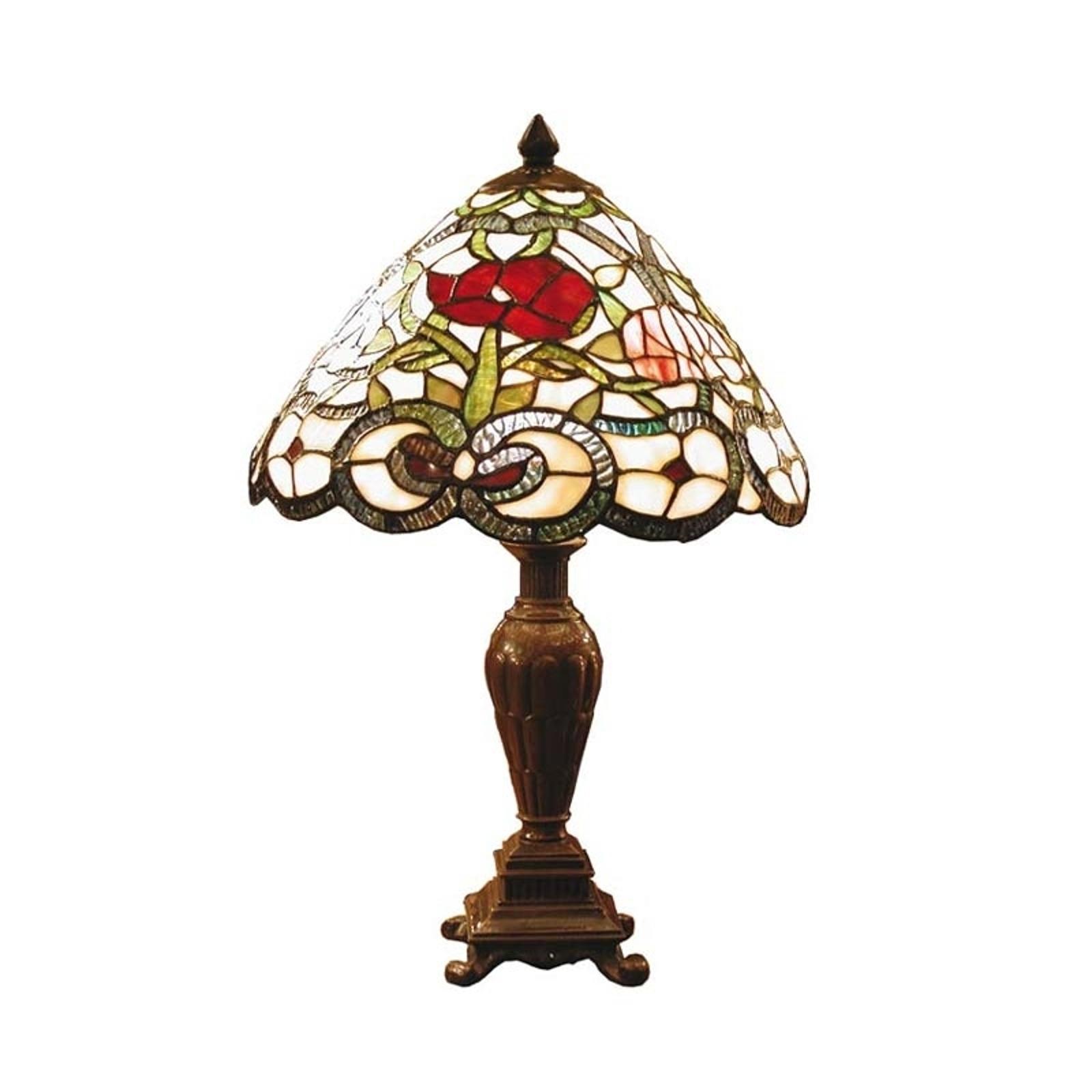 Klassieke tafellamp Flora in Tiffanystijl
