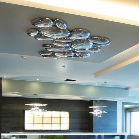 Artemide Skydro plafón de diseño LED, 3.000K