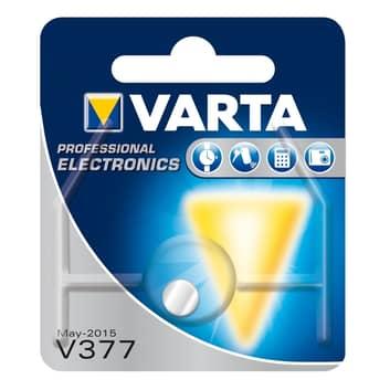 Knappbatteri V377 från VARTA