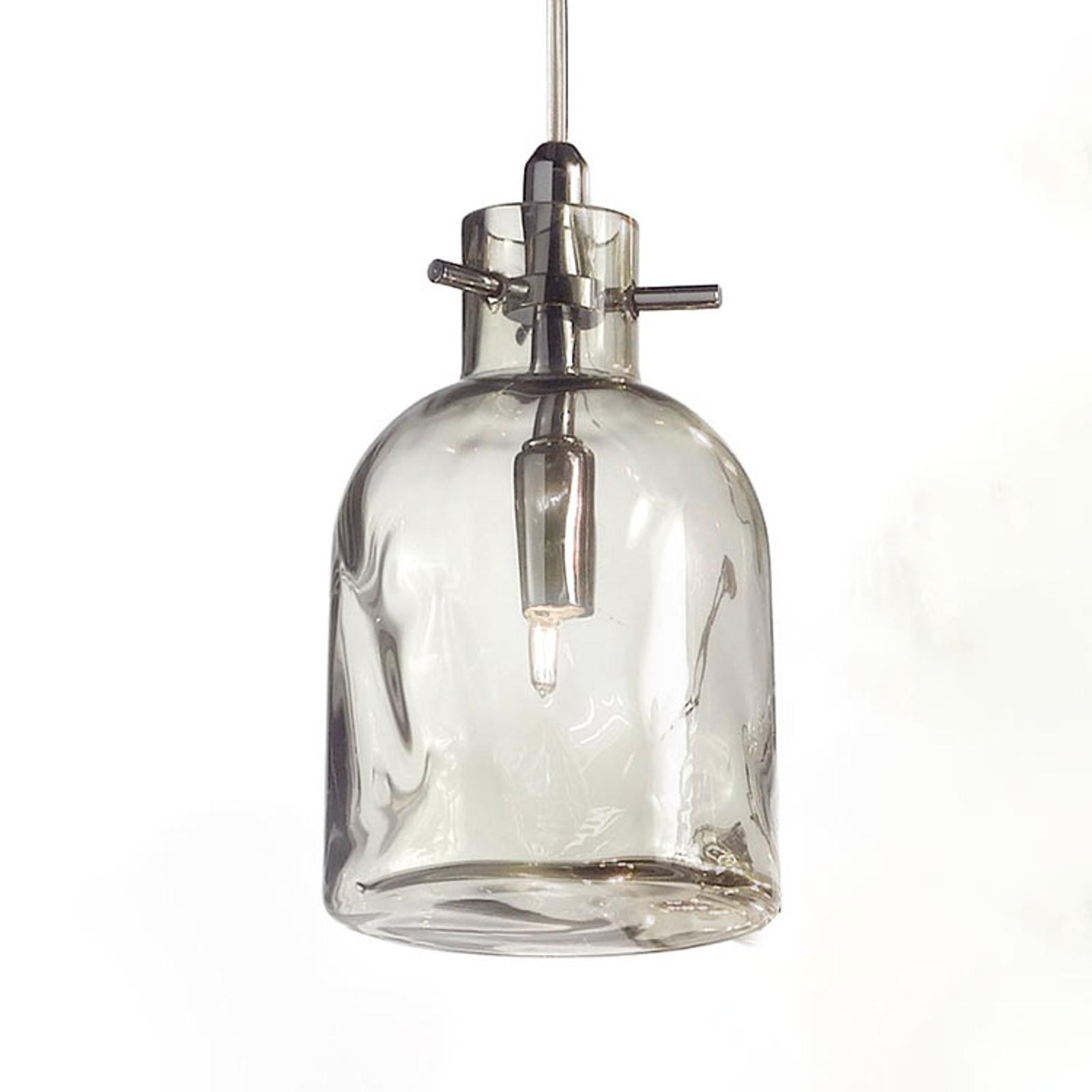Bossa Nova hængelampe, 11 cm, røg