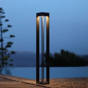 Bone LED-solcellelampe med sensor, høyde 90cm