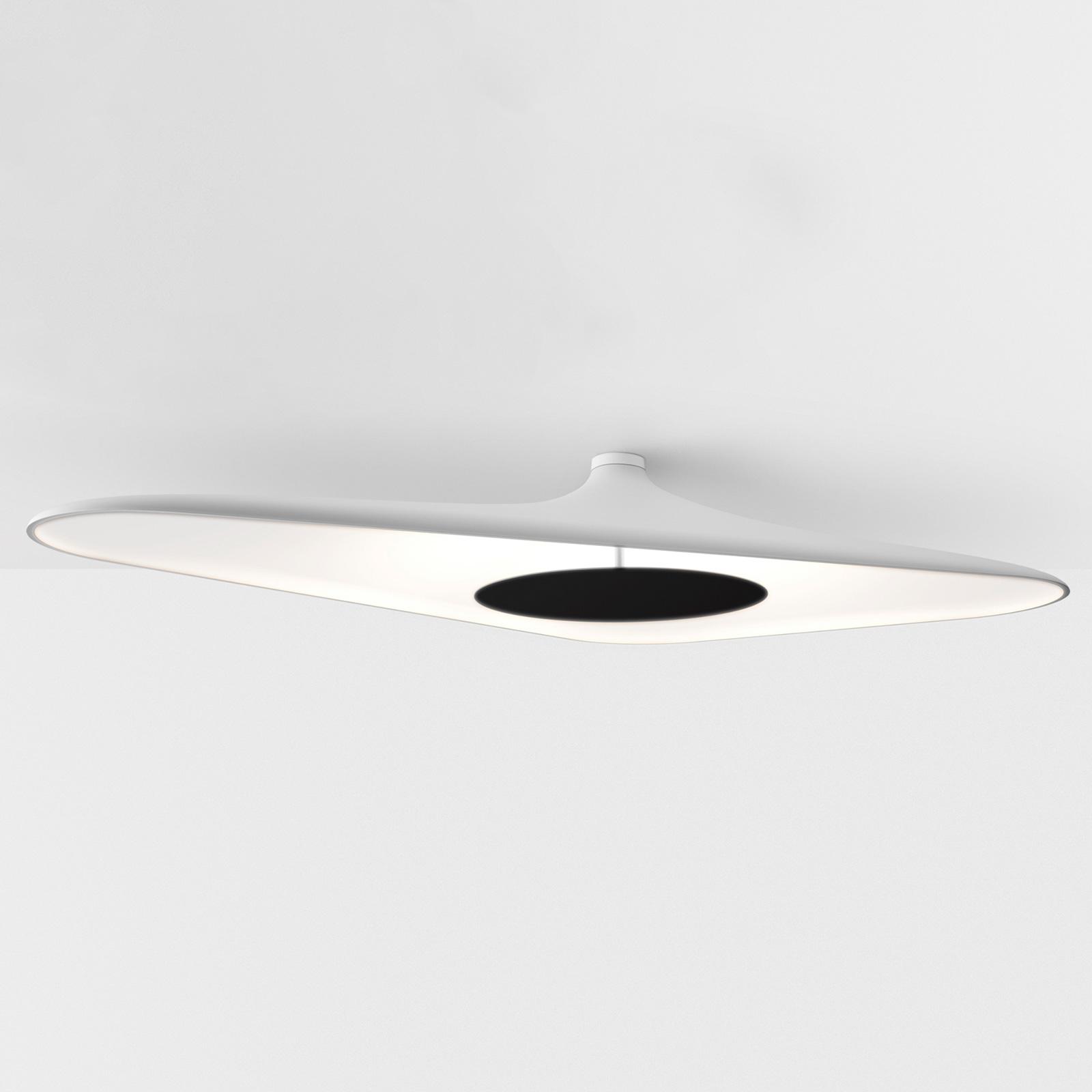 Luceplan Soleil Noir lampa sufitowa LED, biała