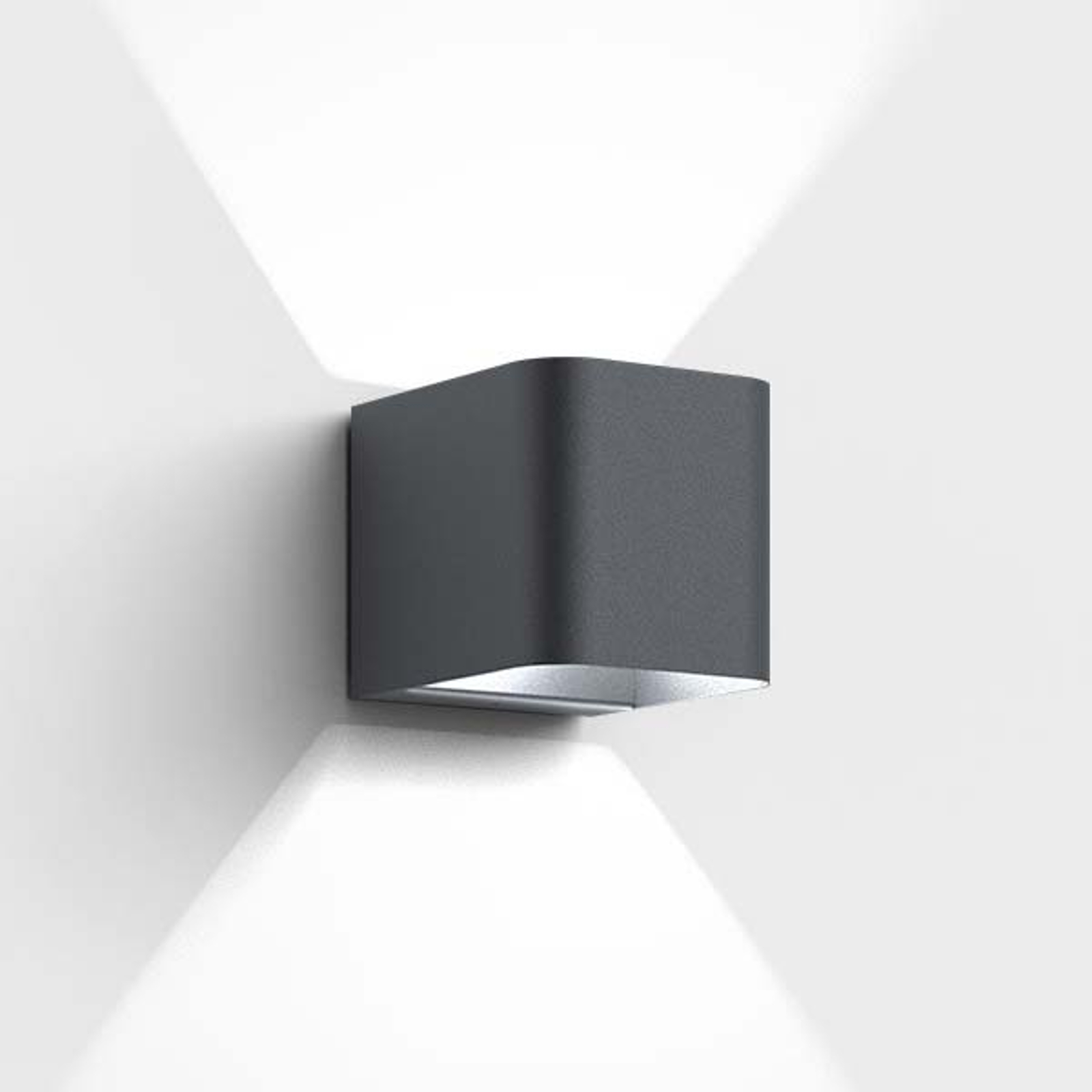 IP44.de Intro - LED buitenwandlamp, antraciet