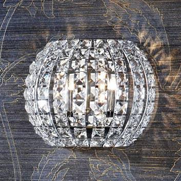 Kristall-LED-Wandleuchte Diamond