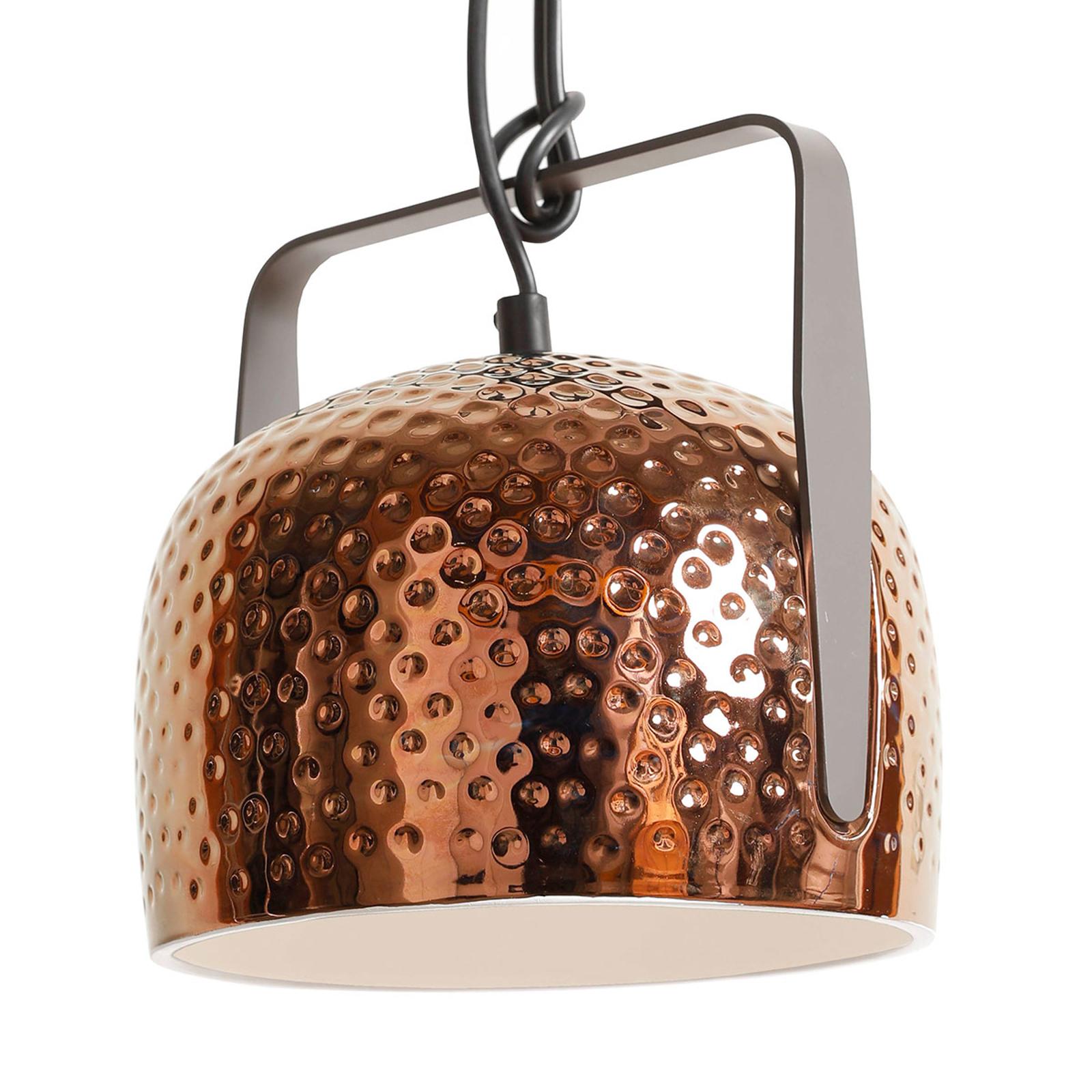 Karman Bag - brązowa lampa wisząca, 32 cm