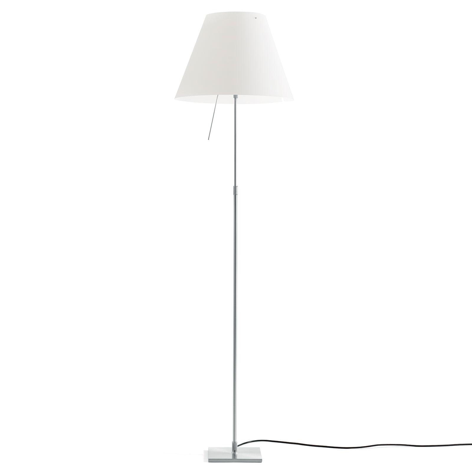 Luceplan Costanza D13 T.C Alluminio Lampada Da Terra