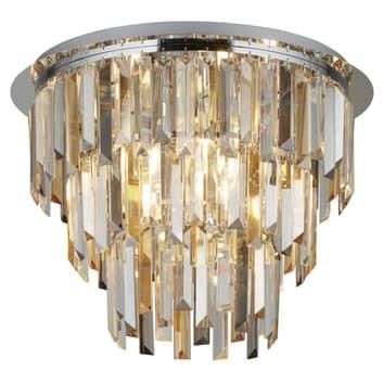 Clarissa loftlampe med krystaller