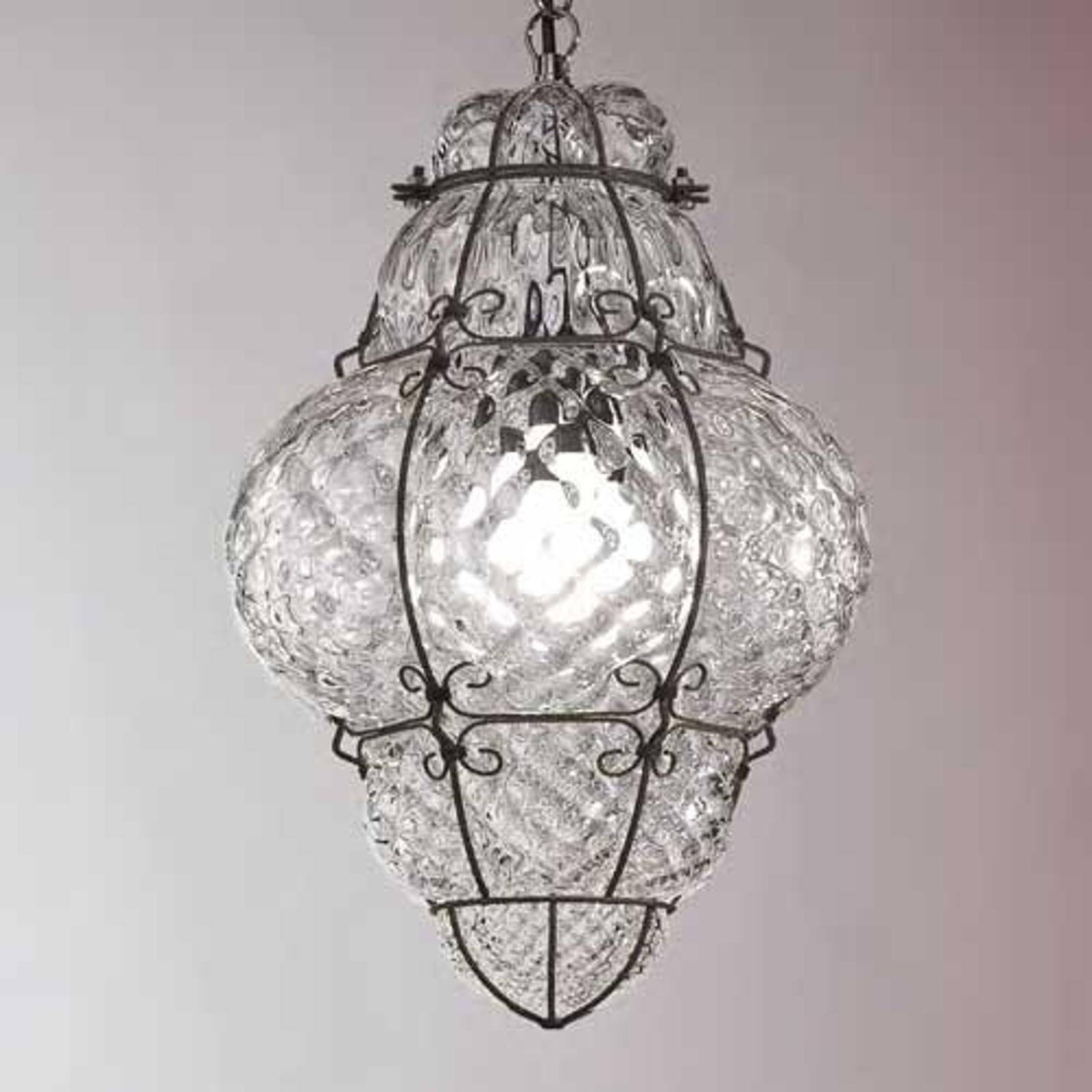 Mondgeblazen hanglamp CLASSIC, 62 cm