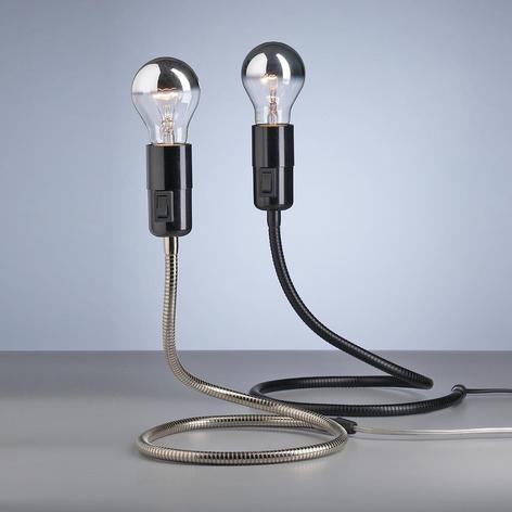 Tecnolumen Lightworm bordlampe av W. Schnepel