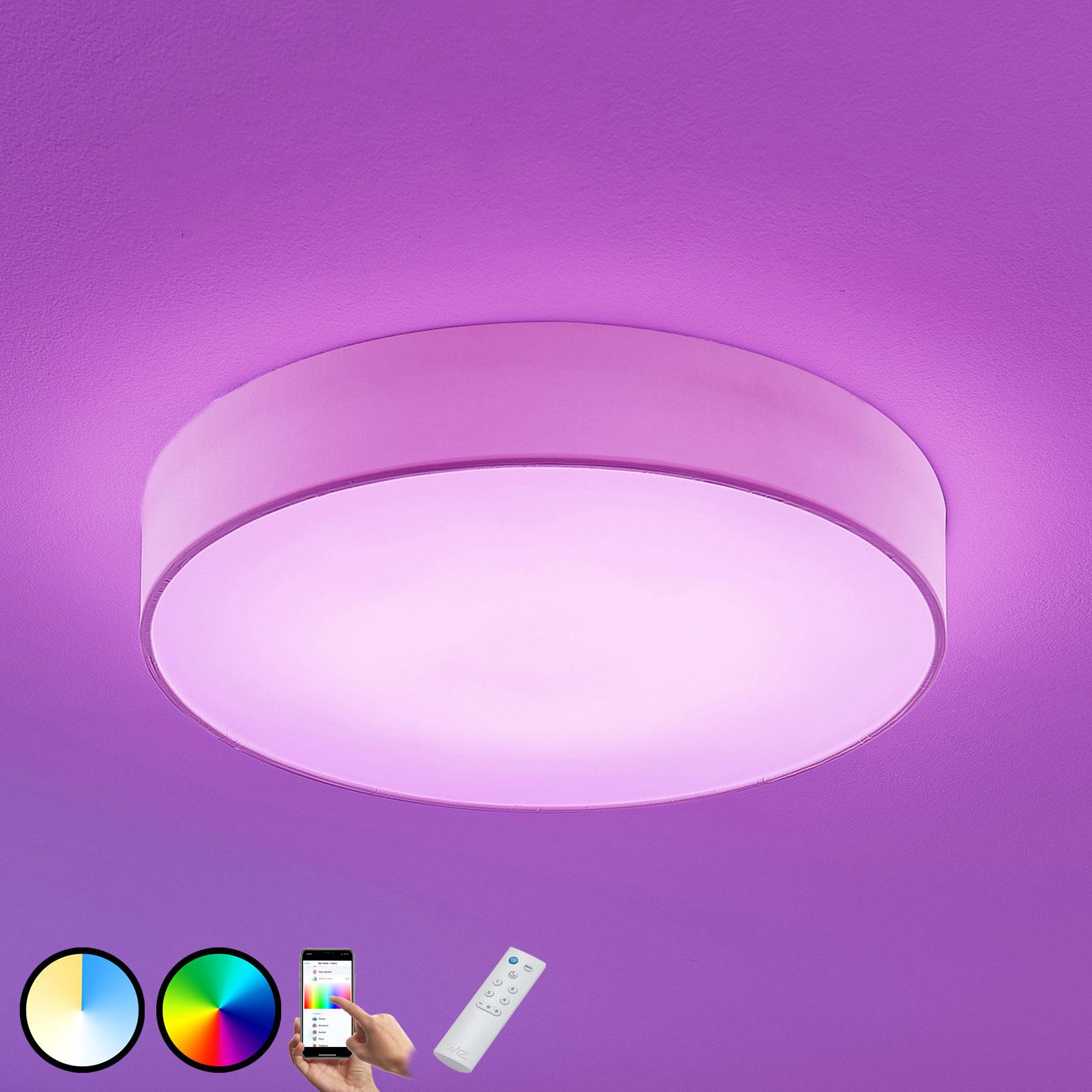 Lámpara de techo LED RGB Ajai 3000-5000K WiZ 60cm