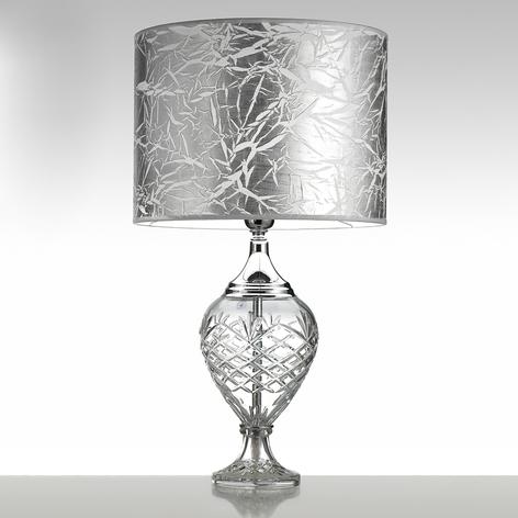 Lámpara de mesa Belle Epoque, 59 cm cromo