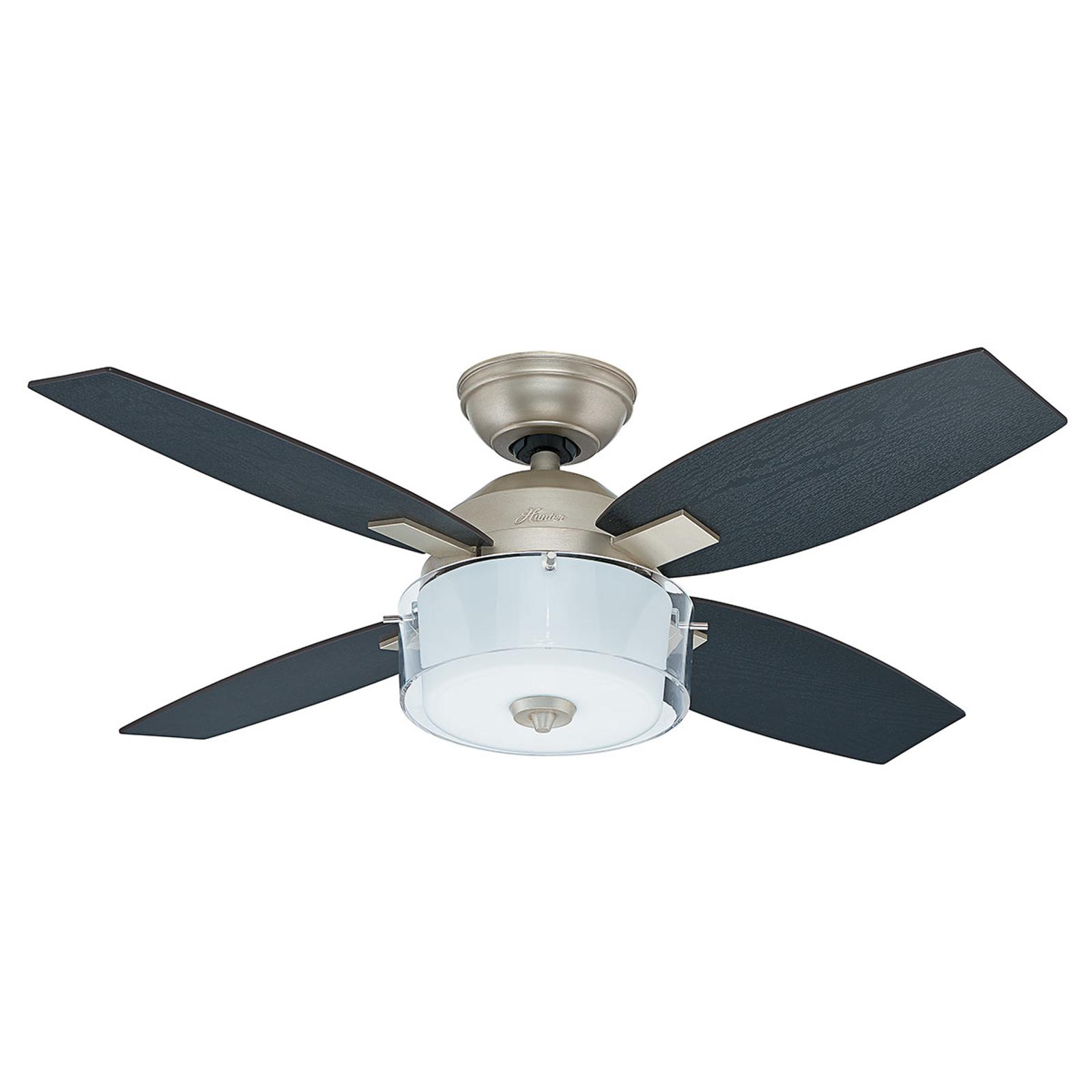 Hunter Central Park ventilateur de plafond éclairé