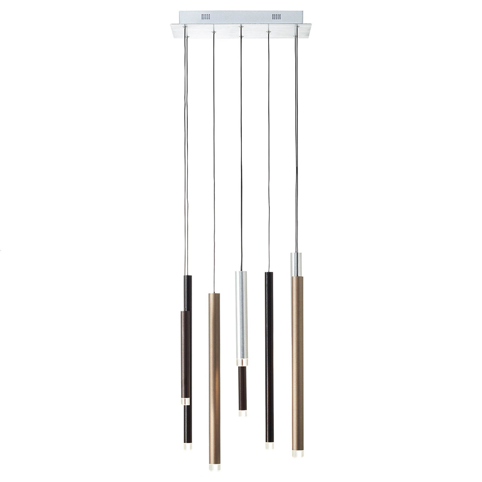 Suspension LED Cembalo dimmable à 8 lampes