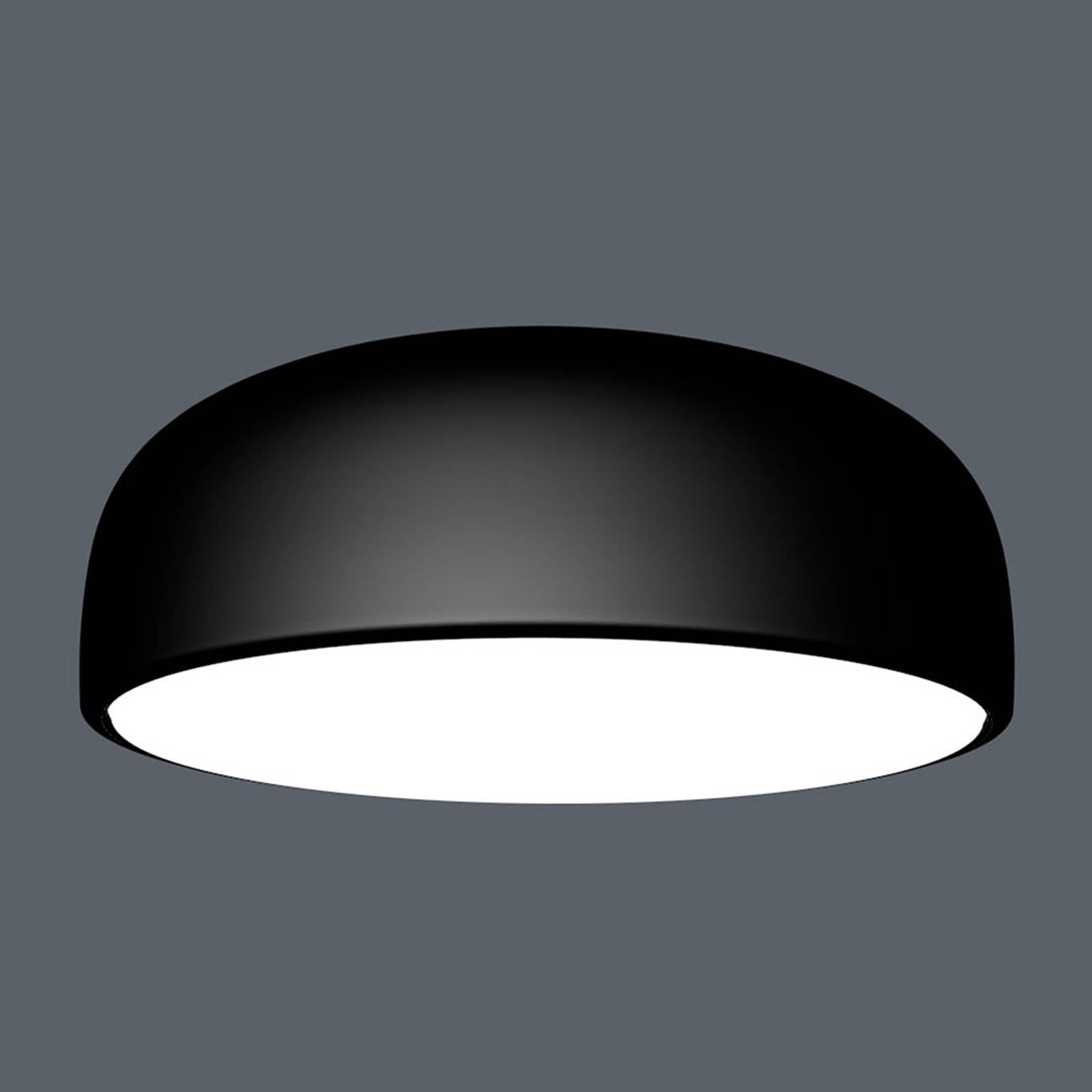 FLOS Smithfield C LED-Deckenleuchte, matt schwarz