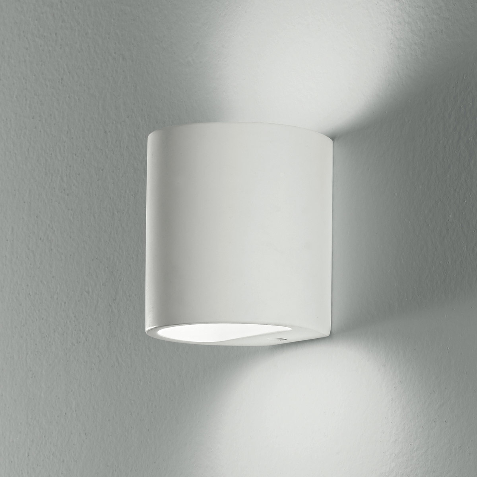 Wandlamp Shine Up&Downlight in wit