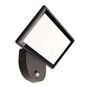 LED venkovní nástěnné světlo Alkes se senzorem