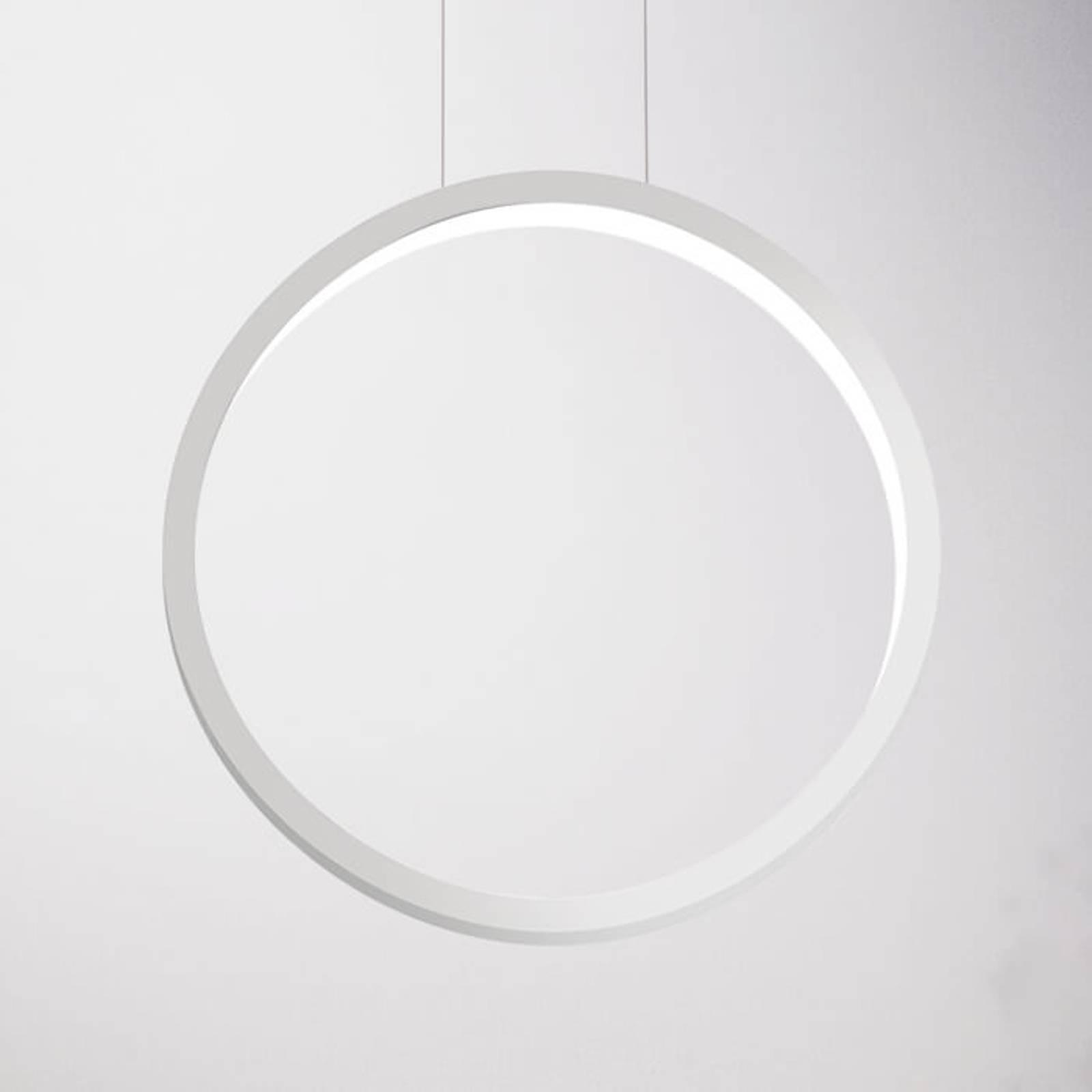 Cini&Nils Assolo - weiße LED-Hängeleuchte, 43 cm