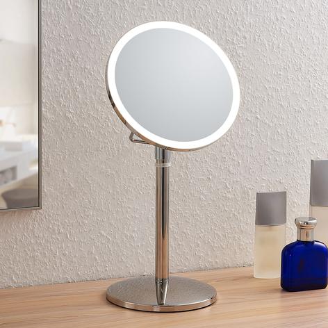 Lindby Farita Miroir cosmétique LED