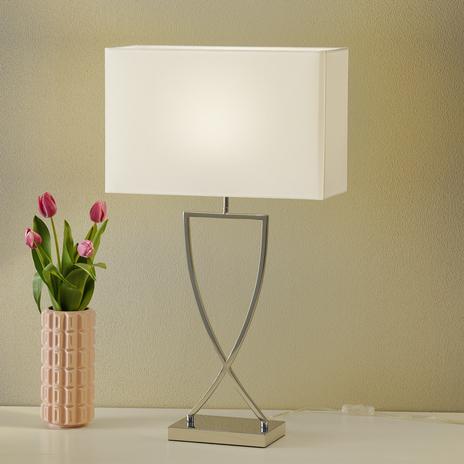 Villeroy & Boch Toulouse – lampa stołowa z tkaniny