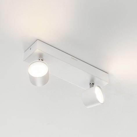 Philips Star LED-Strahler weiß 2flg. WarmGlow