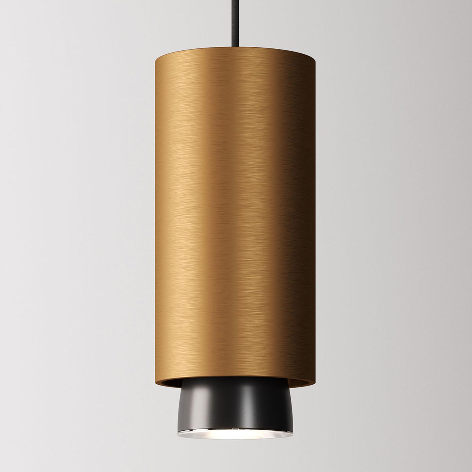 Fabbian Claque LED-Hängeleuchte 20 cm bronze