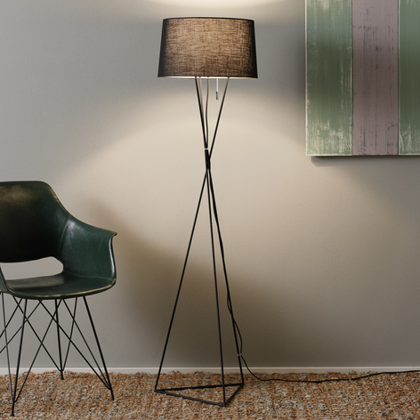 Villeroy & Boch New York - stojací lampa černá