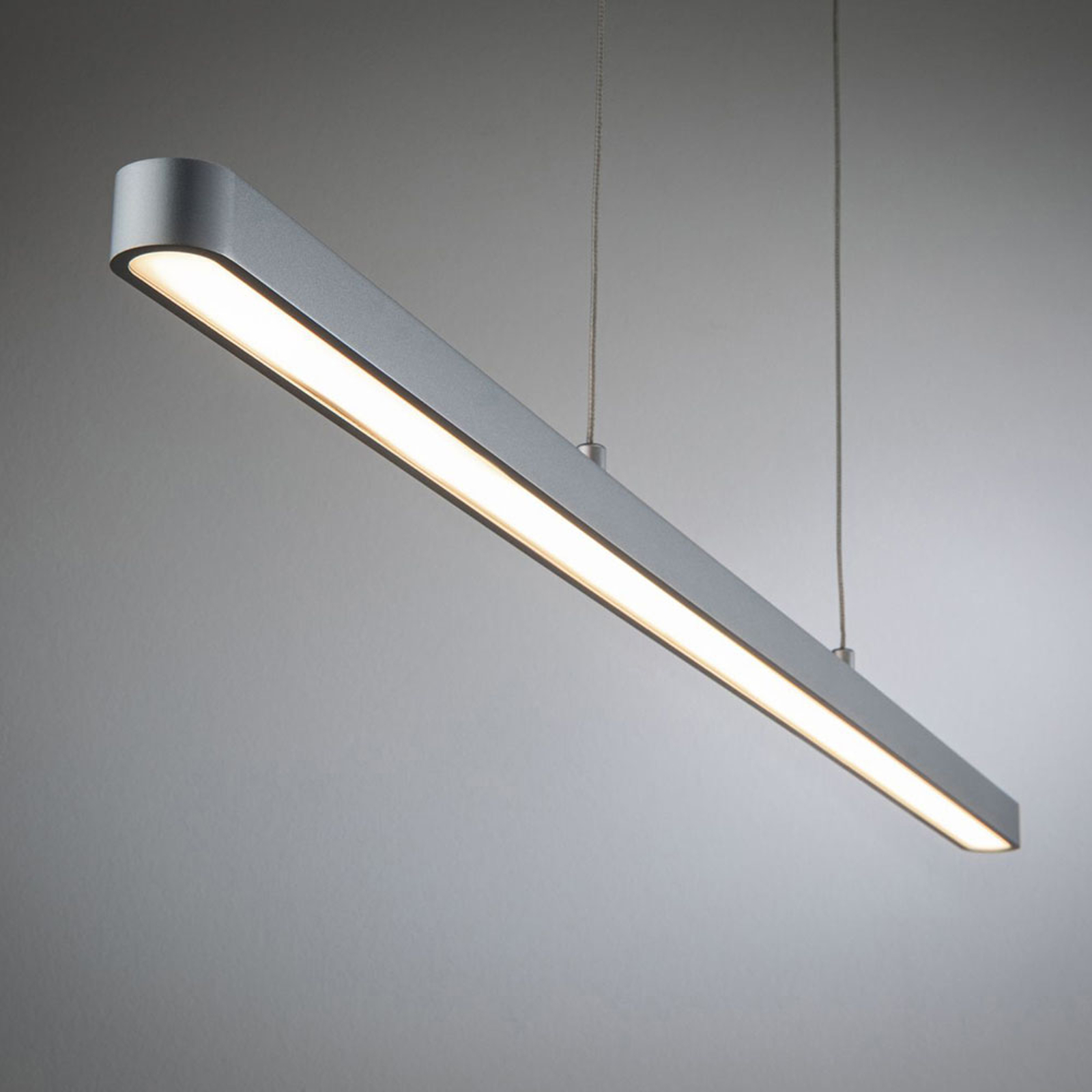 Paulmann URail sospensione LED Lento cromo satin
