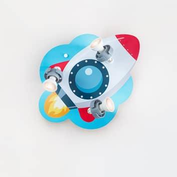 Plafoniera razzo rotonda