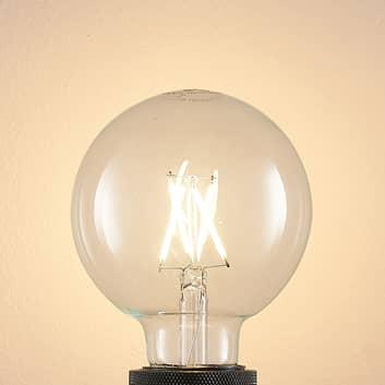 E27 4 W 2.700 K G95 globe, filament, klar