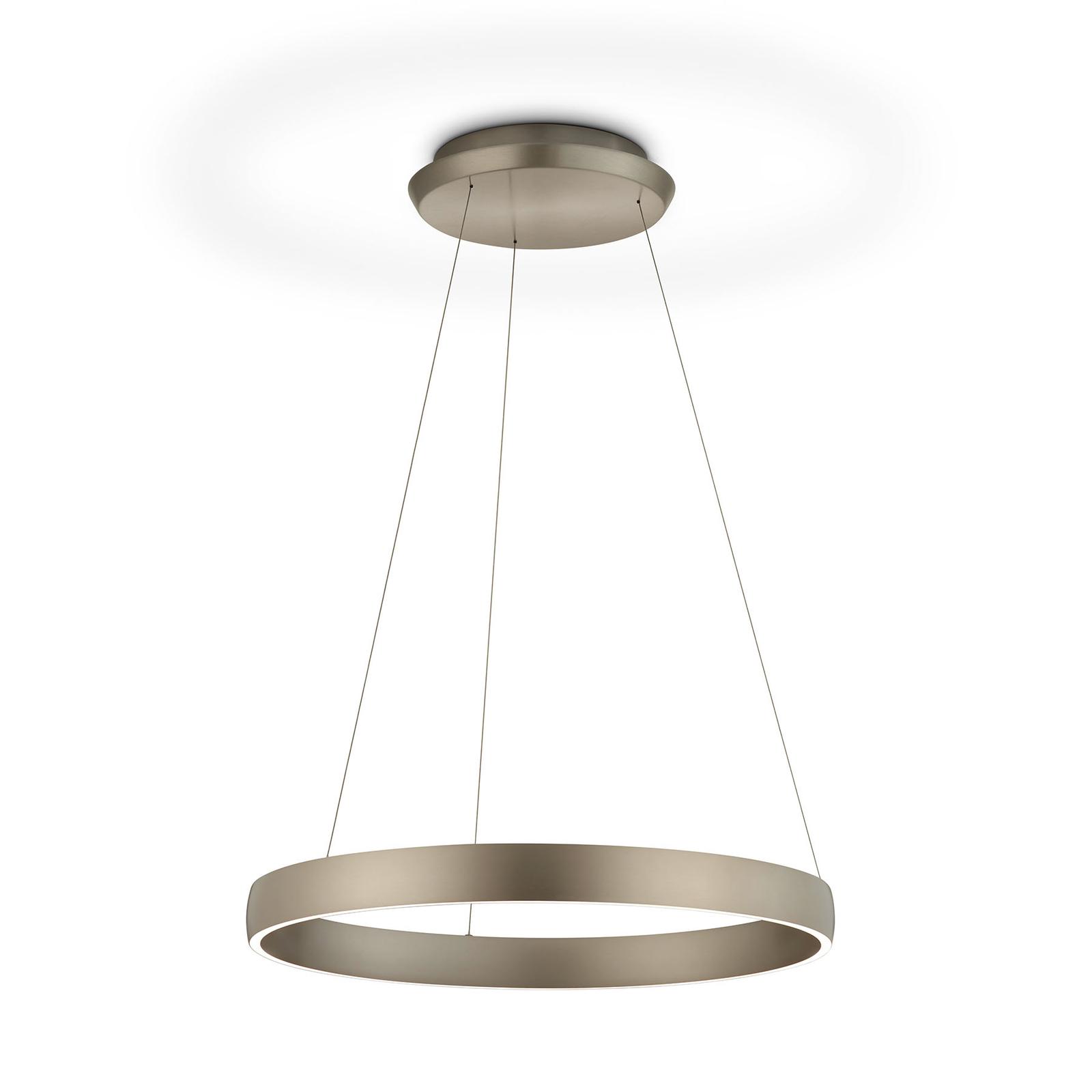 Lampa wisząca LED Sara-60 brązowa 2200-3000 K