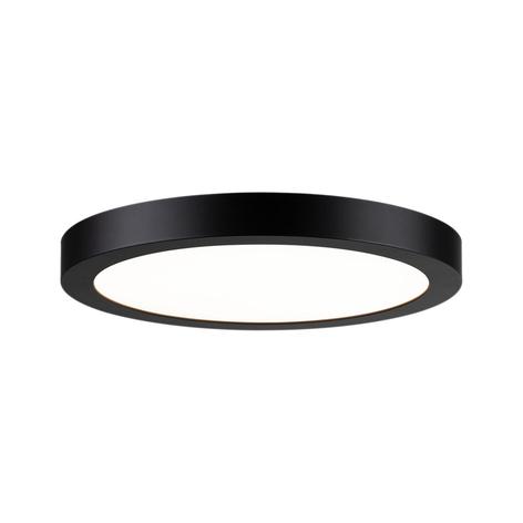 Paulmann Abia LED panel kulatý, černý matný