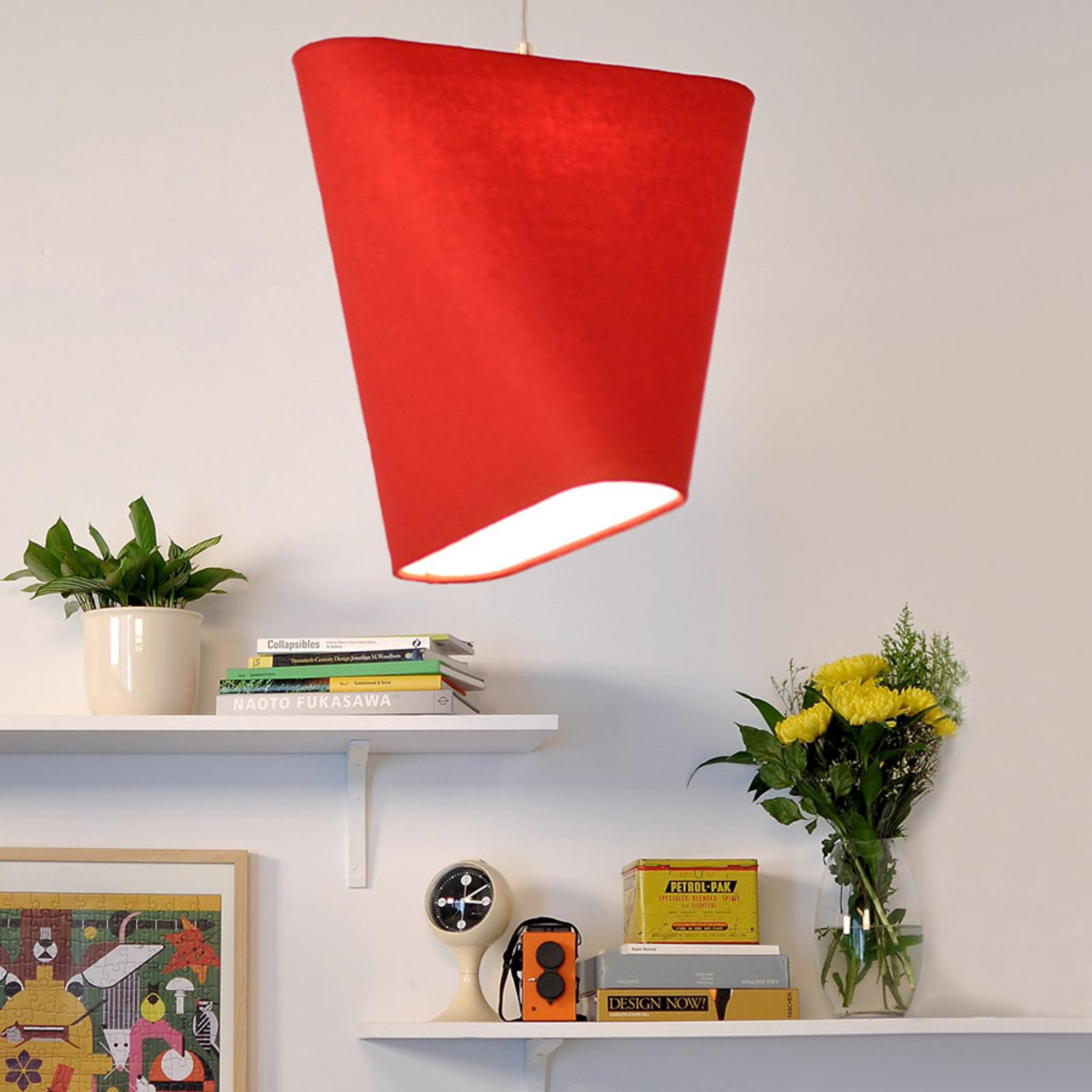 Innermost MnM 60 - textiel-hanglamp, rood