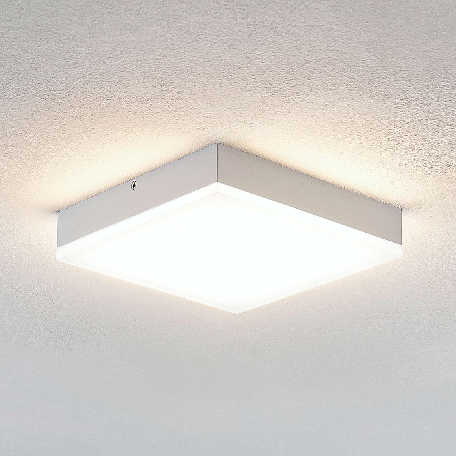 Lindby Tamito lampa sufitowa LED, biała, 20 cm