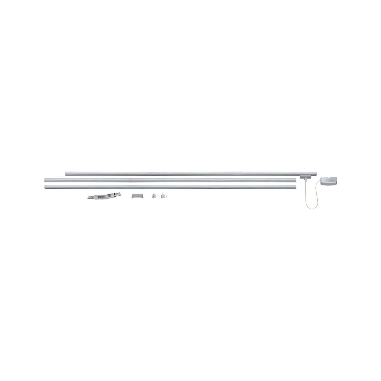 Paulmann URail Basissystem Zubehör-Set, chrom