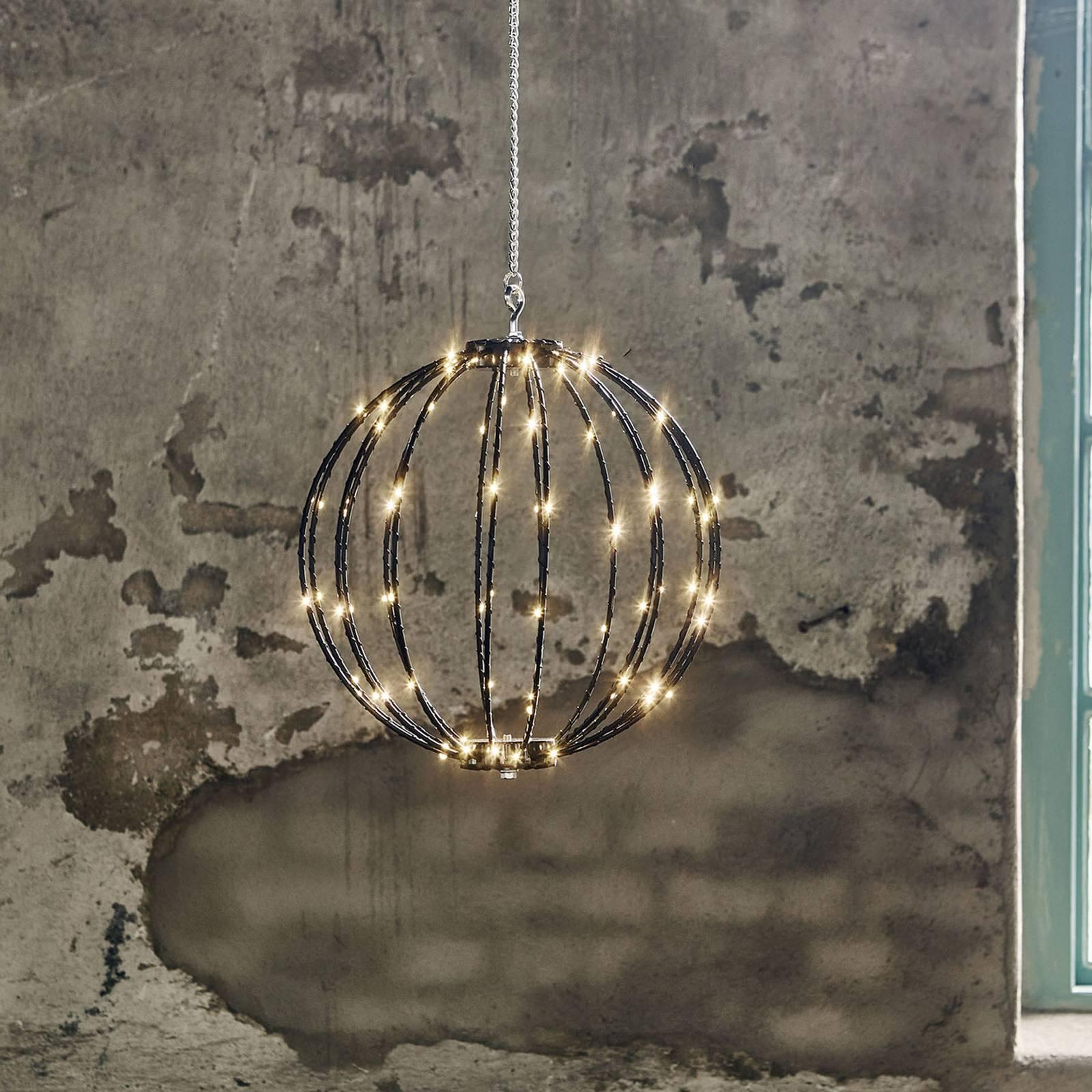 Lampa wisząca LED Mounty Outdoor, Ø 30cm