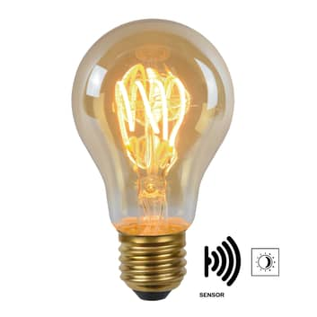 LED-lamppu E27 A60 4W 2200K amber, tunnistin