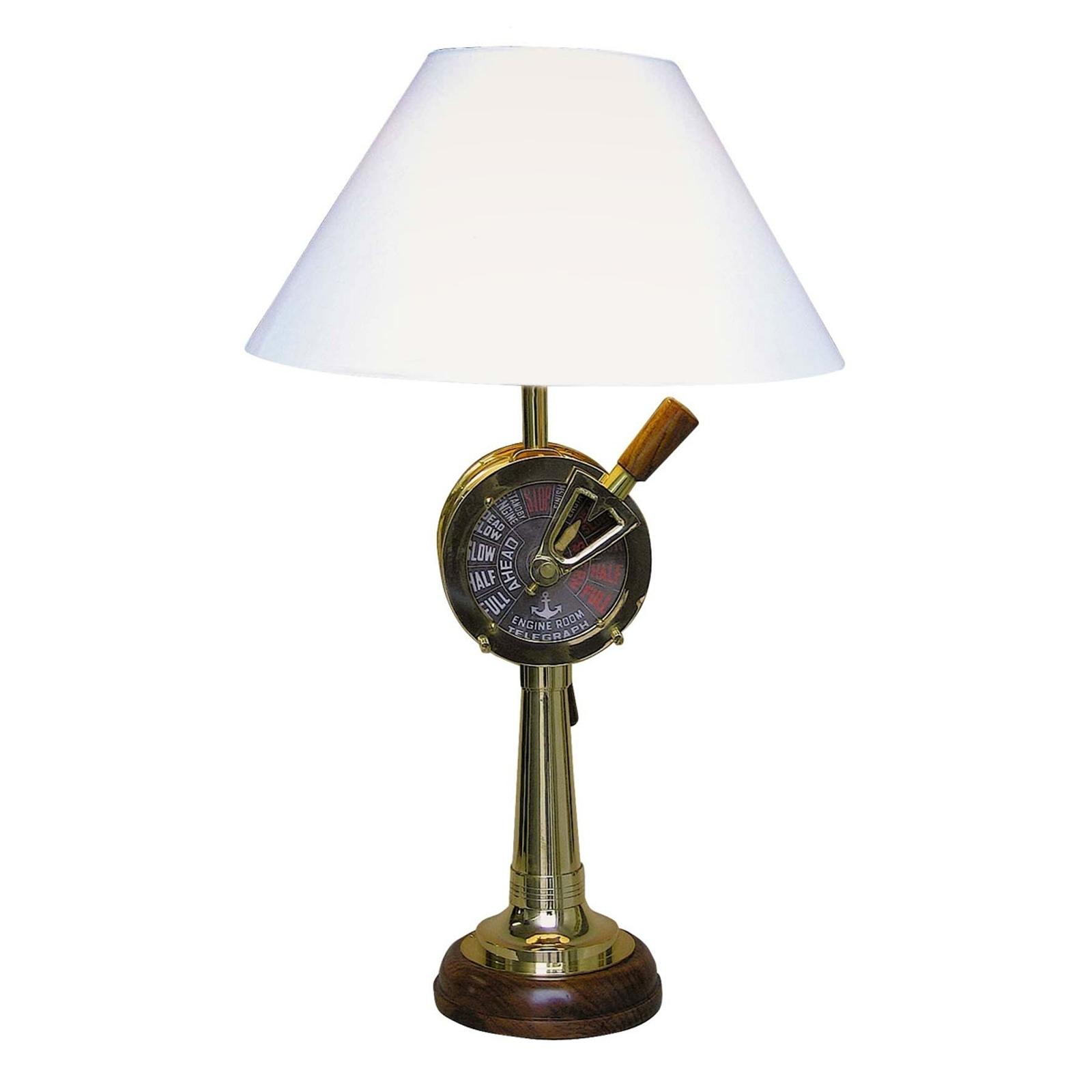 Epatante lampe à poser CRUISE bois