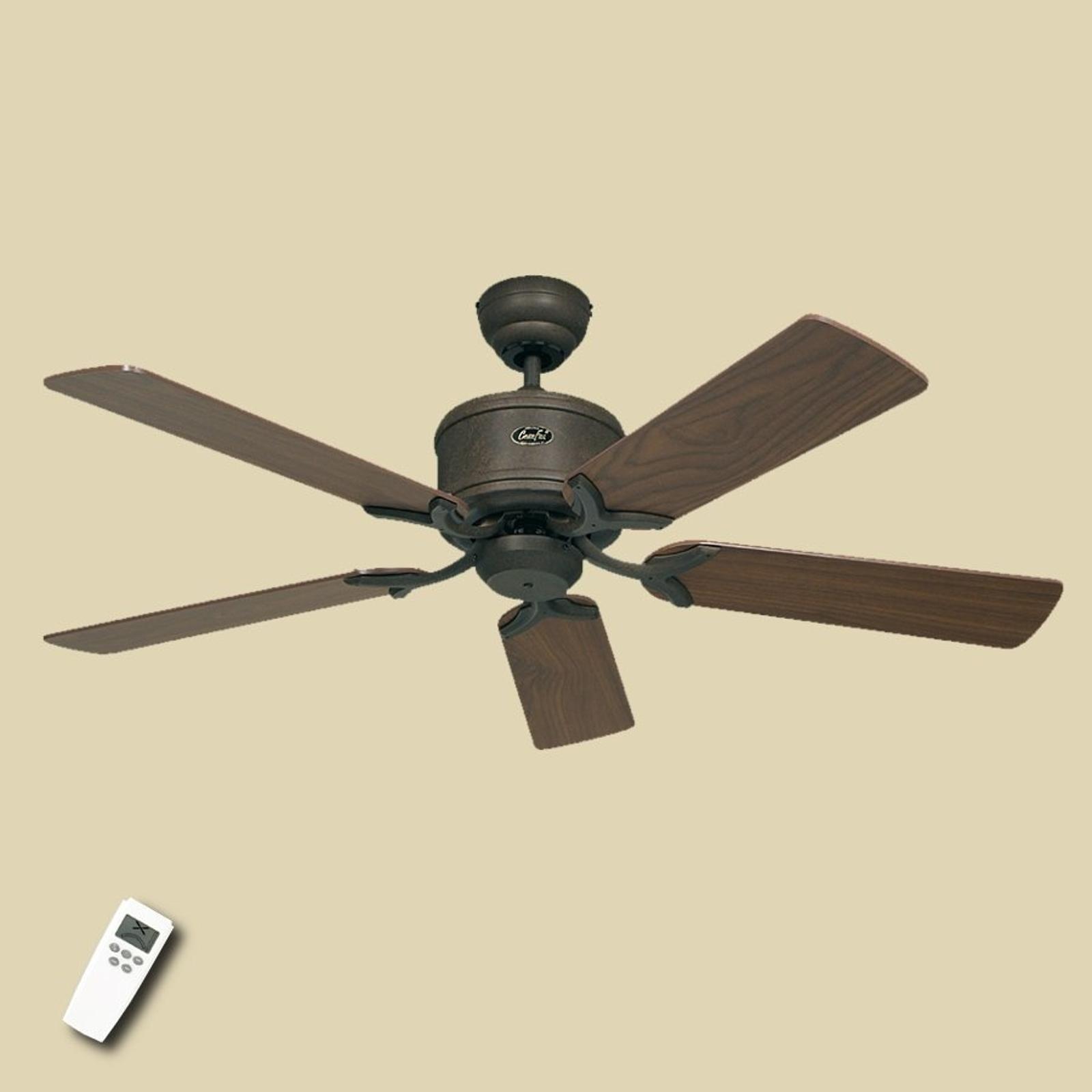 Krásný stropní ventilátor Eco Elements hnědá/ořech