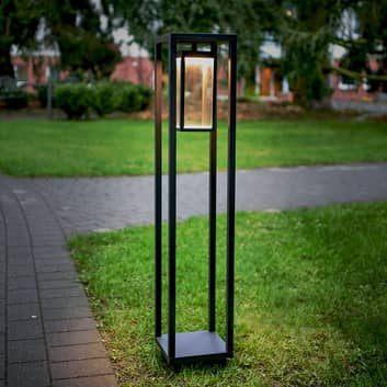 Borne lumineuse LED Ferdinand, forme rectangulaire