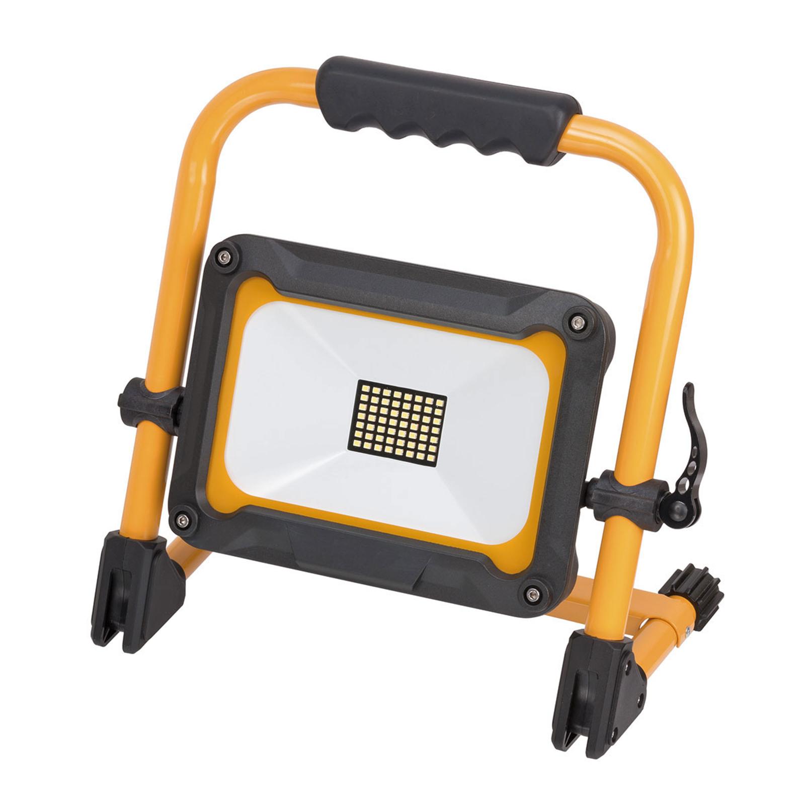 LED-Baustrahler Jaro m. Akku, mobil, IP54 30W
